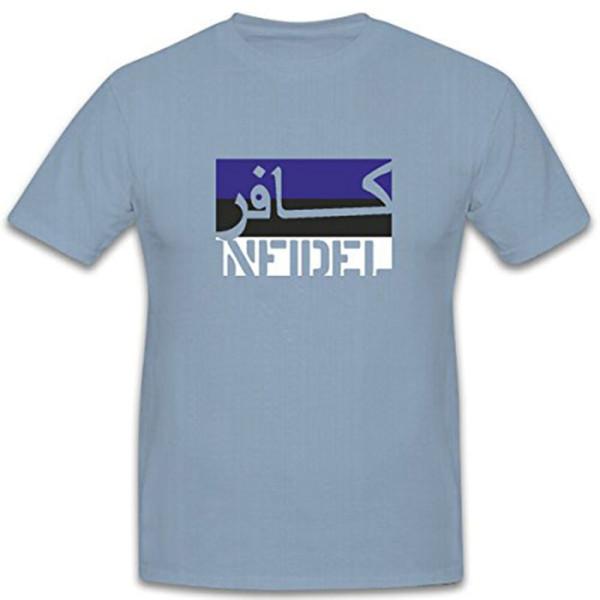 Estland Infidel ungläubiger ISAF Anti Terror Kämpfer Fahne Flagge T Shirt #7594