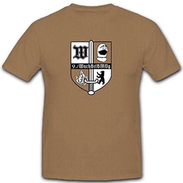9 WachBtlBMVg Typ 2 Bataillon Bundesverteidugungs Ministerium - T Shirt #12082