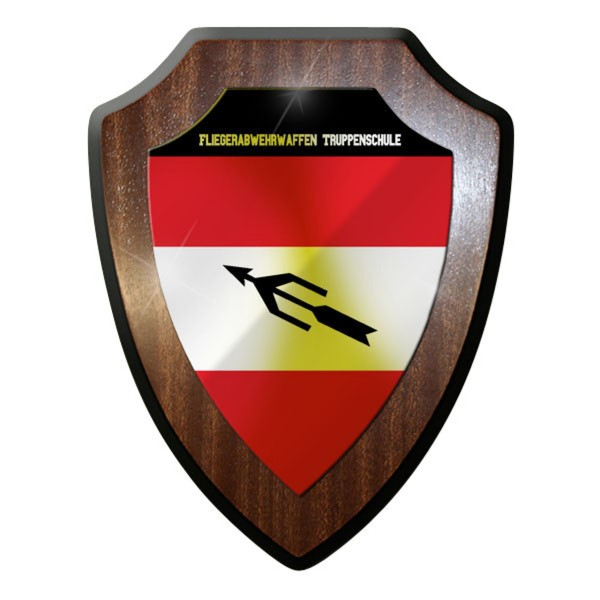 Wappenschild - Fliegerabwehrwaffen Truppenschule Soldaten Österreich #10079