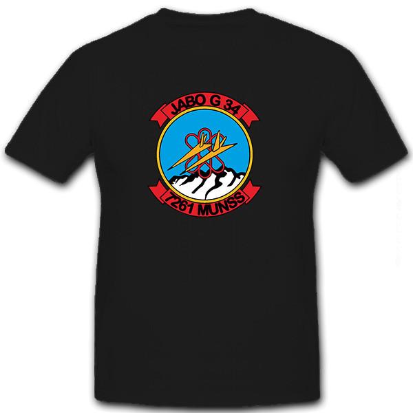 Jabo G 34 Jagdbombergeschwader 7261 MUNSS Wappen Abzeichen - T Shirt #8643