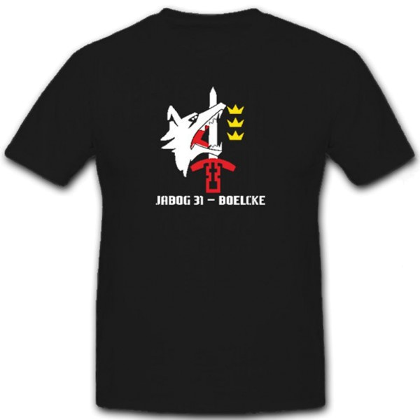 JaboG 31 Boelcke Jagdbombengeschwader Luftwaffe - T Shirt #6793