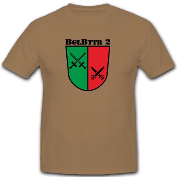 BglBttr 2 Accompanying Battery 2 Bundeswehr Bund Bw Coat of Arms - T Shirt # 11211