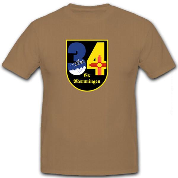 JaboG 34 Memmingen Jagdbomber Geschwader Bundeswehr Deutschland - T Shirt #8613