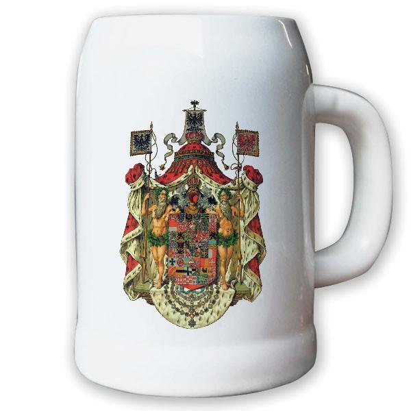 Krug / Bierkrug 0,5l - Königreich Preußen Monarchie Herzog Adel Weimarer #9447