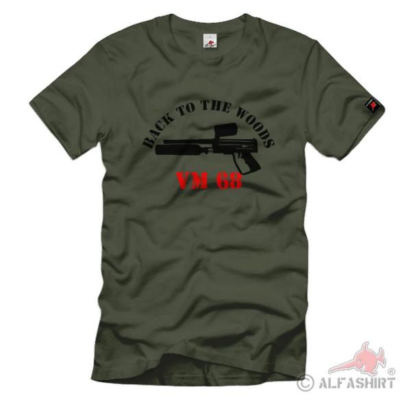 Back to the Woods VM68 Paintball Fun Shooting T Shirt #114