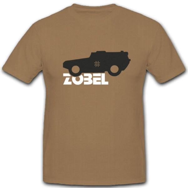 Zobel Panzerfahrzeug Leichter Panzerspähwagen 4x4 Panzeraufklärer- T Shirt #5005