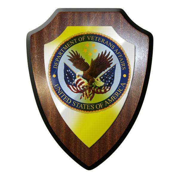 Wappenschild / Wandschild / Wappen -United States Affairs Amerika #8955