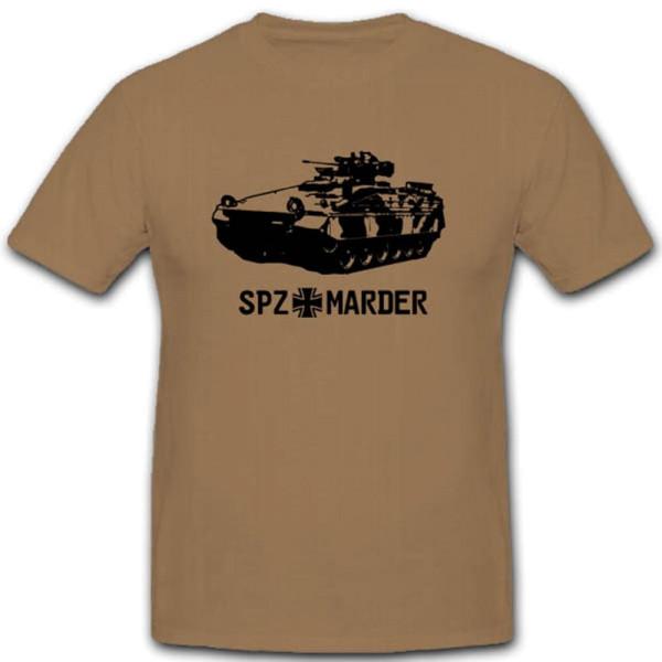 Spz Marder Schützenpanzer Heer Sonderkraftfahrzeug Bundeswehr - T Shirt #3556