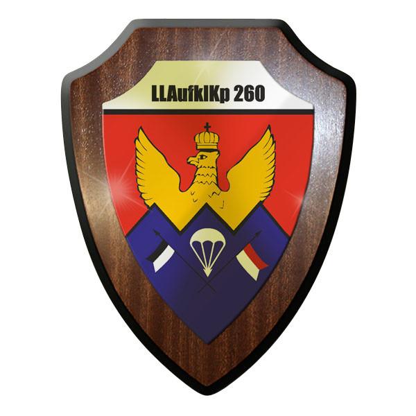 Wappenschild - LLAufklKp 260 Luftlande Aufklärungs Kompanie Emblem #11668