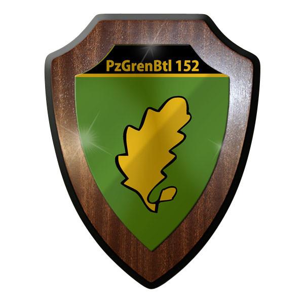 Wappenschild PzGrenBtl 152 Panzer Grenadier Bataillon Grenadiere Militär #9346