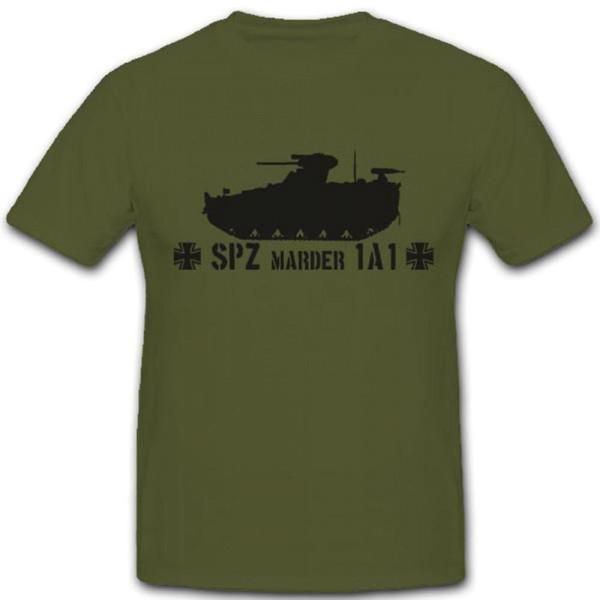 Spz Marder 1a1 Schützenpanzer Panzer Bundeswehr Heer Militär T Shirt #3549