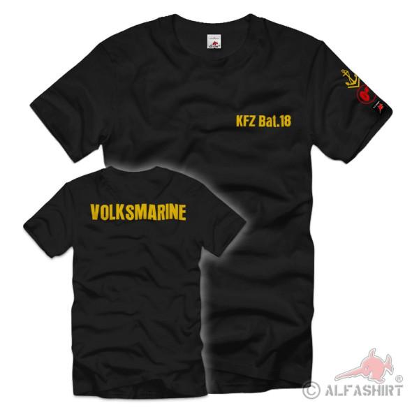 KFZ Bat 18 Kraftfahrer Dienstlaufbahnabzeichen Volksmarine NVA DDR T-Shirt#36910