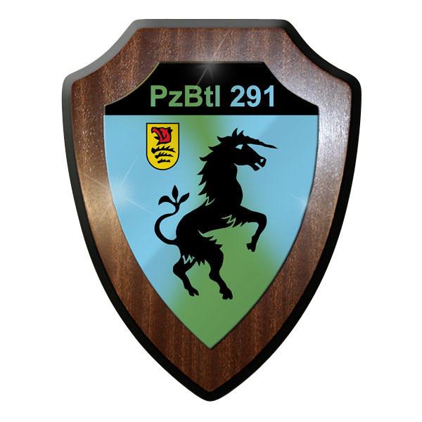 Wappenschild - Panzerbataillon 291 PzBtl Bundeswehr Emblem Wappen Abzeichen#9047