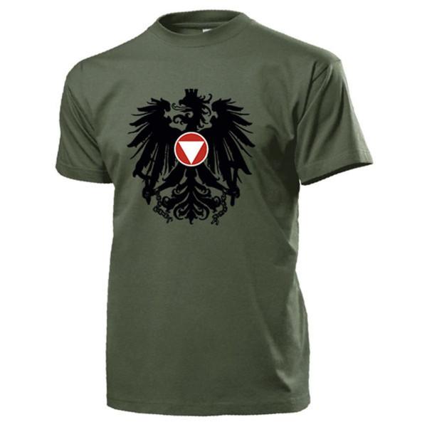 Bundesheer Österreich Adler Wappen Logo Abzeichen Heer Militär - T Shirt #14517