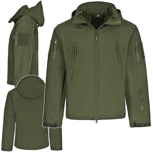 "Tactical Softshell Jacke ""Breathable Shell Technology"" Regenjacke Outdoor #15662"