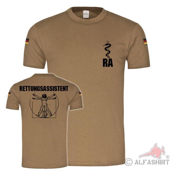 BW Tropen Paramedic RAV-MMXVI Bundeswehr Paramedic RA T-Shirt # 36410