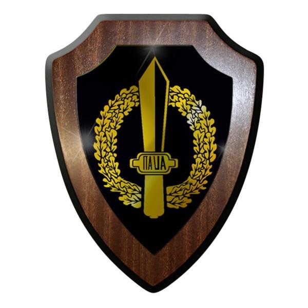 Wappenschild / Wandschild -Gladio Italien Barettabzeichen Militär#7434