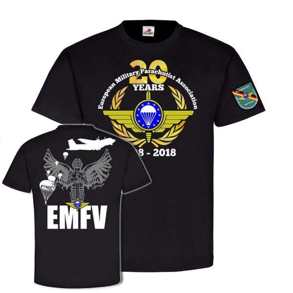20 Years EMFV EN European Military Parachutist Association Fallschirmjäger#24255