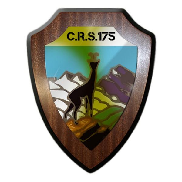 Wappenschild / Wandschild - C.R.S.175_Schweizer GebJg Armee Gebirgsjäger #14331