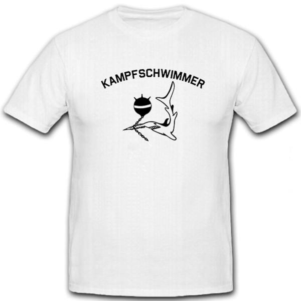 Kampfschwimmer Sägefisch Seemine Schwertfisch Meer Ozean Militär - T Shirt #6395