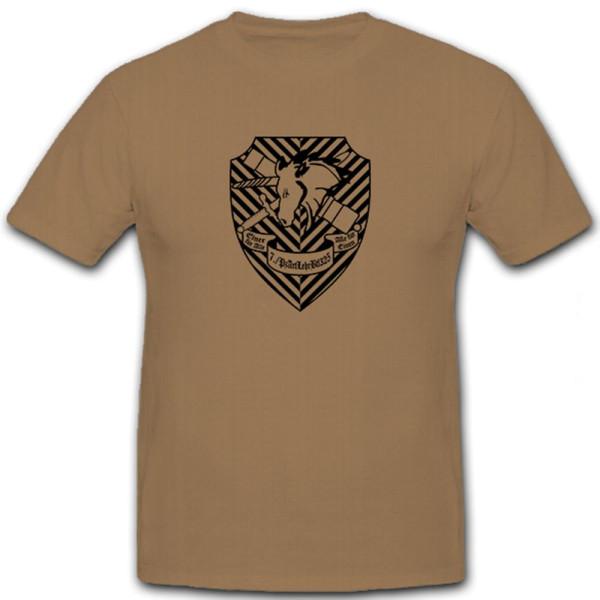 7 PzArtLehrBtl 325 Bundeswehr Wappen Afghanistan Abzeichen - T Shirt #5894