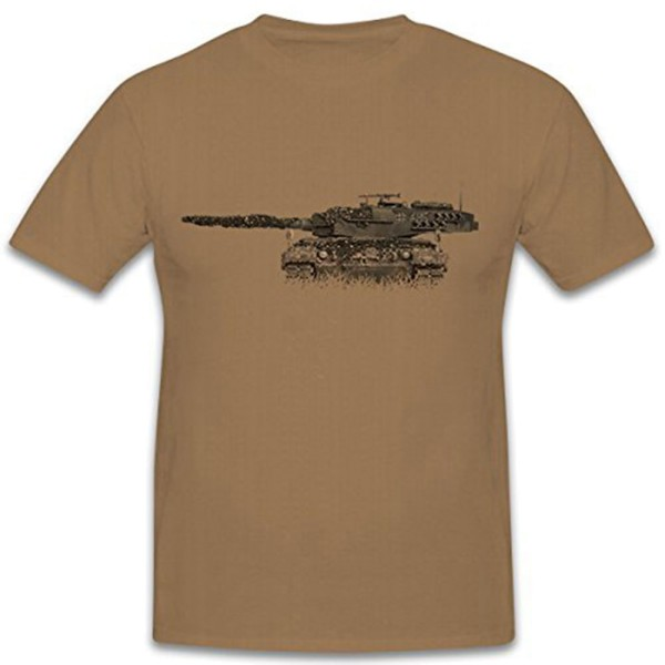 Leopard Tank Tower Three o'clock position Bordkannone Smooth Tube - T Shirt # 12261