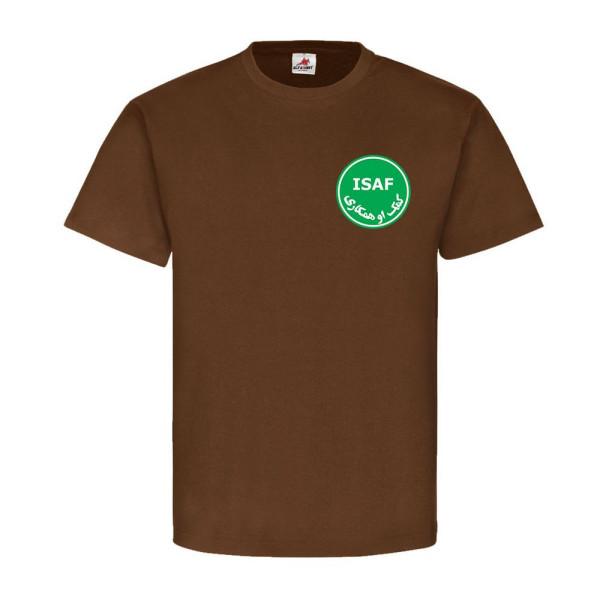 ISAF Kundus Kabul Afghanistan Deutsche Truppen Auslands Einsatz - T Shirt #6499