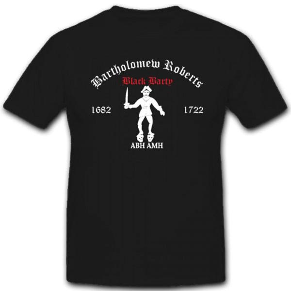 Piraten Bartholomew Roberts Pembrokeshire Berüchtigter Pirat - T Shirt #4053