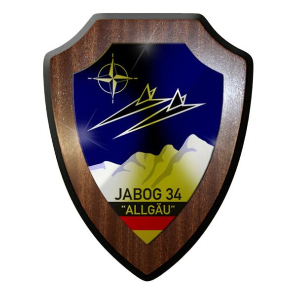Wappenschild / Wandschild / Wappen -Jabog 34 Allgäu Luftwaffe Logo #7969