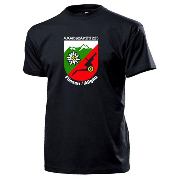 GebPzArtBtl 225 Gebirgspanzerartilleriebataillon Bundeswehr - T Shirt #13549