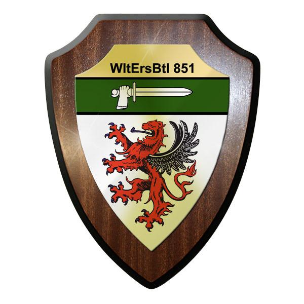 Wappenschild WltErsBtl 851 Wehrleitersatzbataillon Bundeswehr Deutschland #11996