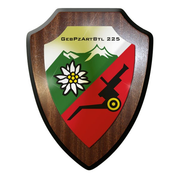 Wappenschild - GebPzArtBtl 225 GebirgsPanzerArtillerieBataillon #9225