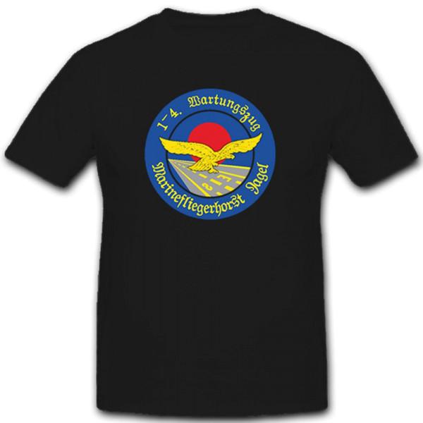 Marinefliegerhorst Jagel, 12 3 4 Wartungszug Mfg I Bundeswehr - T Shirt #7457