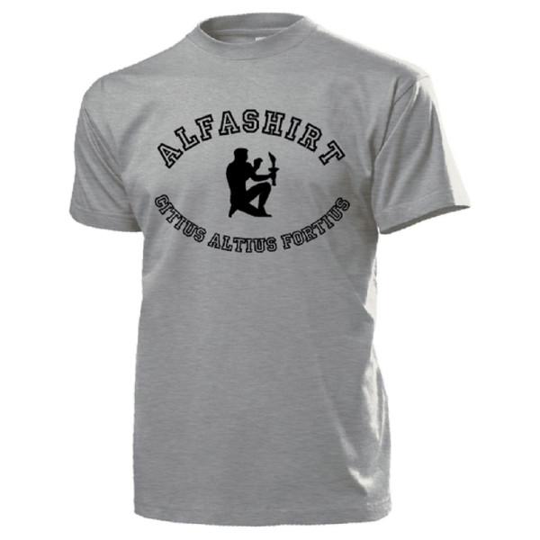 Alfashirt DE Citius Altius Fortius Olimpia oplympische Spiele - T Shirt #14578