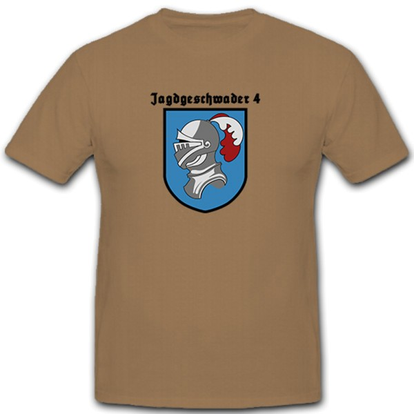 JG4 - Fighter Squadron 4 Military Air Force - T Shirt # 11176