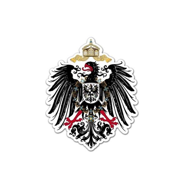 Adler Deutsches Kaiser Reich TYP2 Deutschland Vogel Preußen Adler 45x55cmA5593