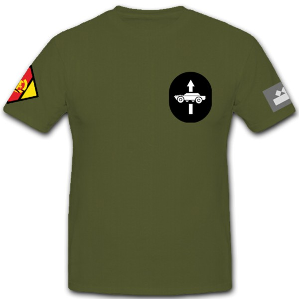 Staff Sergeant of the NVA Reconnaissance Emblem National People's Army DDR T Shirt # 10860