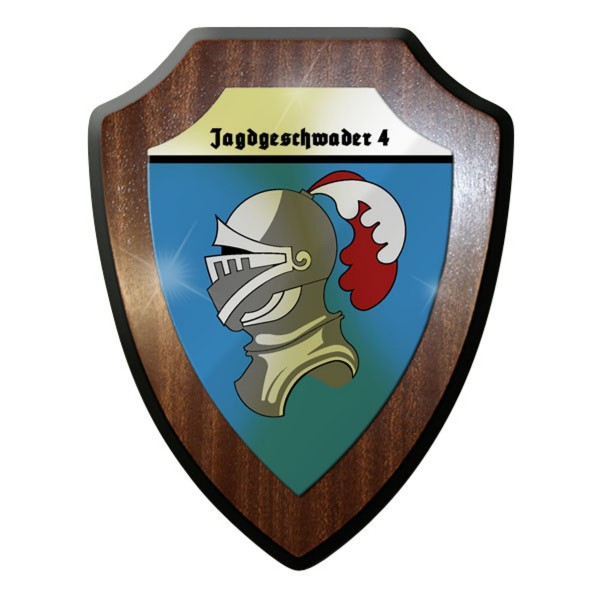 Wappenschild - Jagdgeschwader JG 4 WK 2 WWII Deutschland Ritter #11712