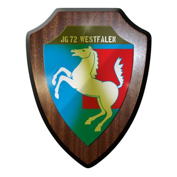 Wappenschild / Wandschild / - JG 72 Jagdgeschwader Westfalen Bw #8388