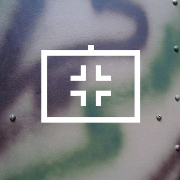 Aufkleber/Sticker Balkenkreuz Luftwaffe Taktisches Zeichen BW 18x14cm #A128