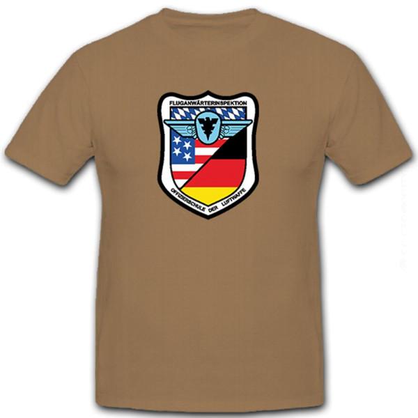 Fluganwärterinspektion Offizierschule der Luftwaffe Bundeswehr - T Shirt #8454