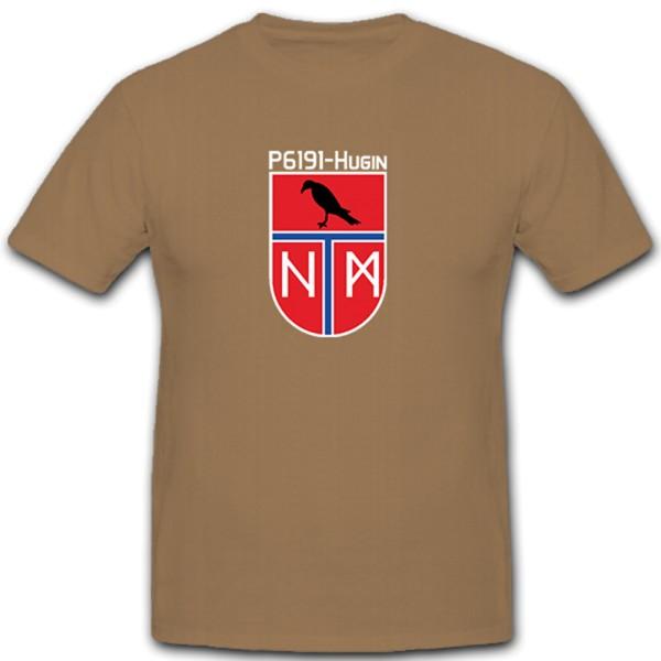 P6191 Hugin 1. Schnellbootgeschwader Bundeswehr Bw Bund S-Boot - T Shirt #10562