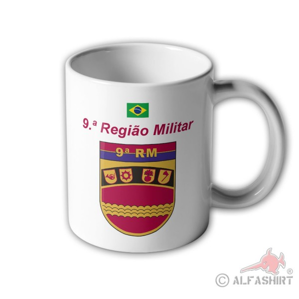 9ª Regiao Militar Brazil coat of arms Mello Region Caceres military region # 33399