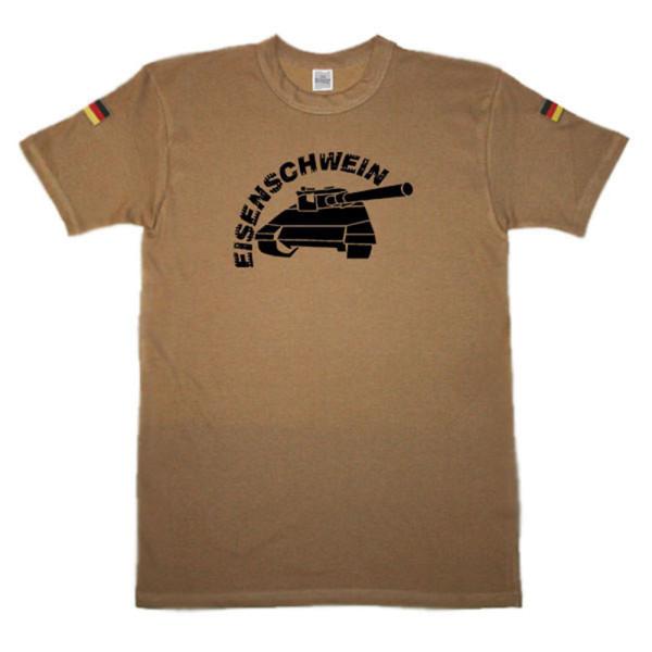 BW Tropen Eisenschwein Tank Panzer original Tropenshirt #14690
