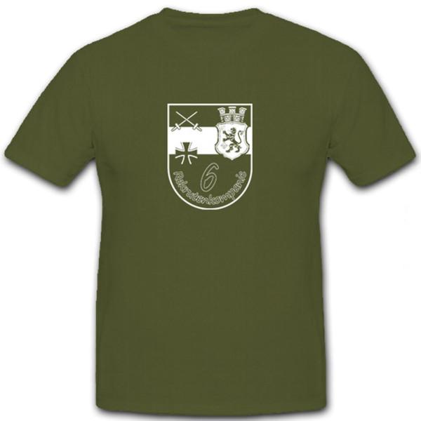 Rekrutenkompanie 6 Donnerberg Kaserne Eschweiler- T Shirt #6341