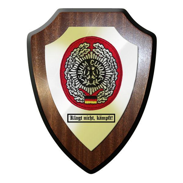 Wappenschild - Klagt nicht, kämpft! Feldjäger Suum Cuique MP Bw - #11752