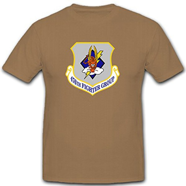 476th Fighter Group Reserve Luftwaffe ARC WW II Iraqi War Wappen T Shirt #12012