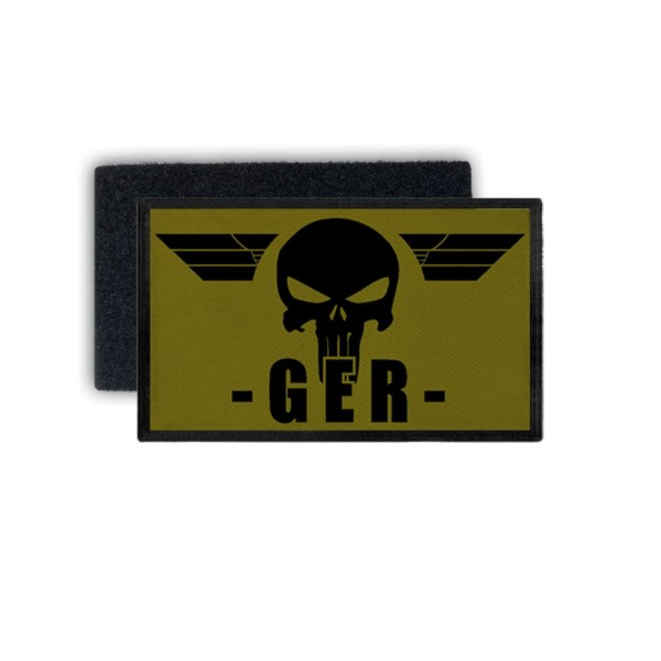 German Sniper Patch Military Sniper Sniper GER 7.5 x 4.5 # 36064