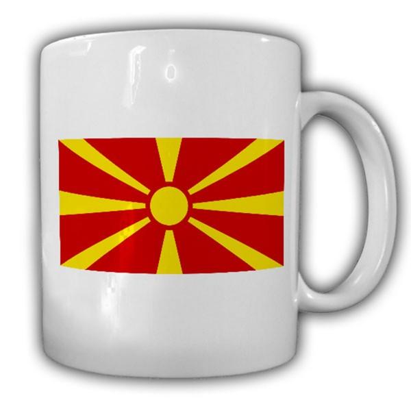 Mazedonien Fahne Flagge Republik Mazedonien Kaffee Tasse #13751