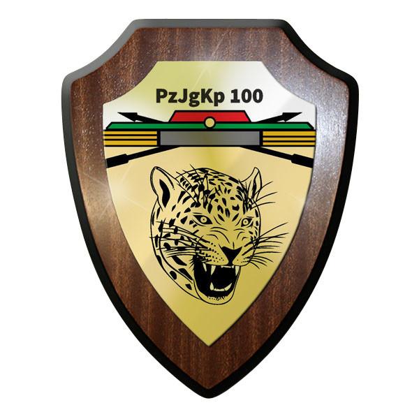 Wappenschild - PzJgKp 100 Panzerjäger Kompanie 100 Bundeswehr - #11744